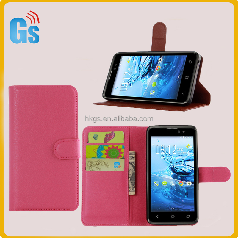 Folio Design Flip Cover For Acer Liquid Z520 Leather Wallet Case
