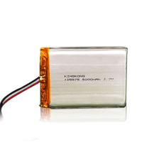105575 li-po battery 5000mah polymer battery 3.7v rechargeable battery High-grade quality