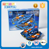 New DIY Building Block Space Ship boy toys for sale