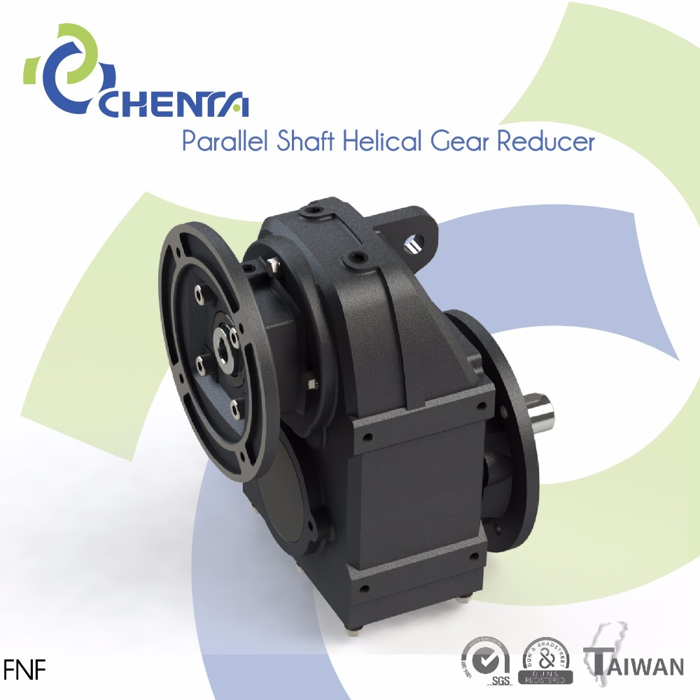 PARALLEL SHAFT HELICAL GEAR REDUCER FNF MODEL automatic electric potato chip machine cutter