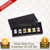 100% Pure Therapeutic Grade Basic Sampler Essential Oil Gift Set- 6/10 Ml (Lavender, Tea Tree, Eucaly -826040