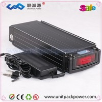 Competitived price lifepo4 48v 10ah battery with BMS and charger for 48v electric bicycle battery pack