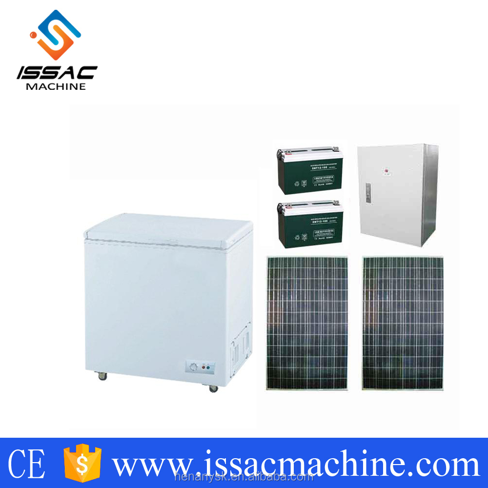 IS-185D 185 L Solar automoble portable refrigerator