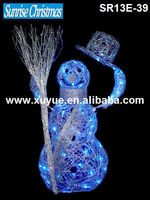 Animated christmas snowman moving hat /Animated moving Christmas decorations/ Animated Santa (MOQ: 200pcs, GS/CE/UL)