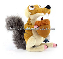 hot sales squirrel stuffed plush toy