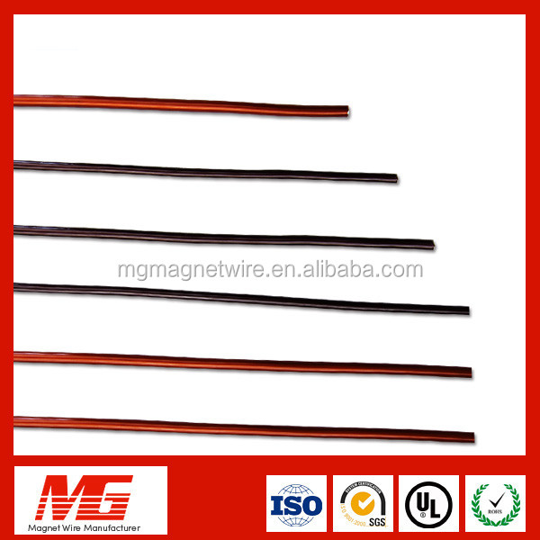 155 class 0.3mm qzcca copper coated aluminum wire for speaker voice coil