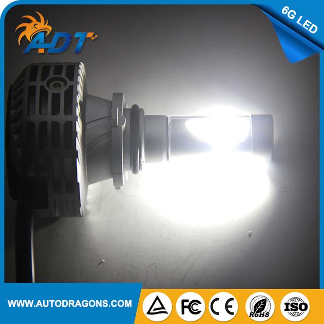 Factory wholesale direct 6G led 9006-3000LM universal car headlamp headlight kit