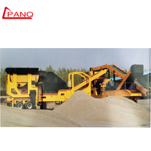 Industrial Supply High Efficiency Small Mini Stone Crusher Mobile Jaw Crusher Plant