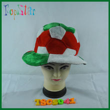 2015 Novelty Product Factory Direct Sale Party Goods Plush Football Hat
