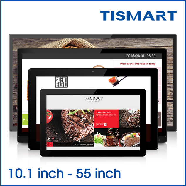 Tismart tablet 13.3 inch digital player octa core tablet pc advisement player