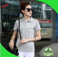 wholesale quality embroidered short sleeve sports t shirts brands t shirts supplier