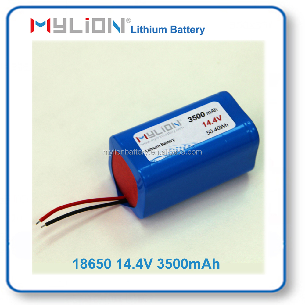 Mylion18650 14.4V 3500mah Rechargeable Lithium Battery for 3C Products