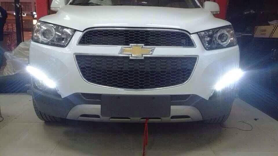 LED car light drl for chevrolet captiva led daytime running light