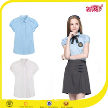 2016 fashion school uniform patterns, dri fit dress shirt design double shirt ladies dresses