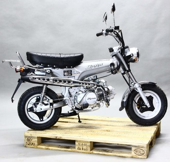 SKYTEAM 125CC 4 STROKE SKYMAX DAX MONKEY Motorcycle mini bike (EEC, EURO4, EPA approved)