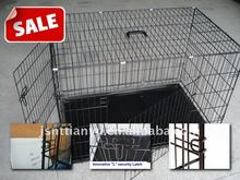 heavy duty folding pet cage