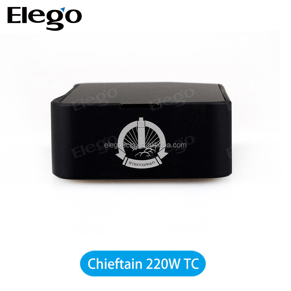 100% Original Wotofo Chieftain 220W TC MOD with 220W TC Wholesale Wotofo Chieftain subtank Mini/Aspire