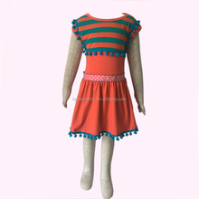 Girl dress baby clothing kids wear latest style summer child cotton dress