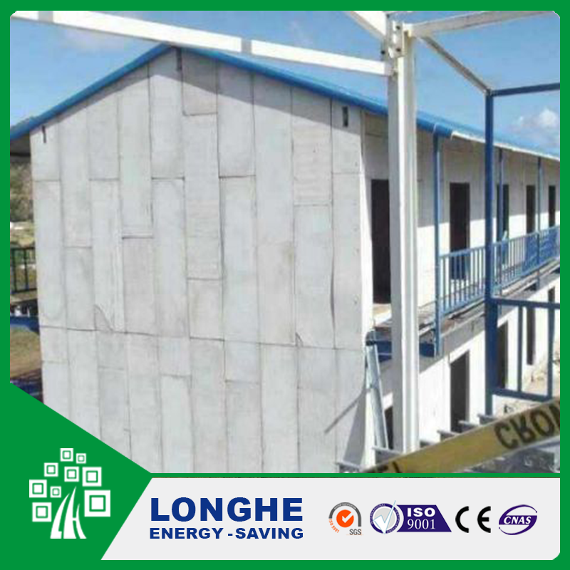 Strong and durable EPS Cement Wall Panel 2 bedroom prefab modular homes