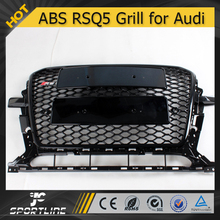 Black Frame Auto RSQ5 Honeycomb Mesh Front Grille for Audi Q5 2013 2014
