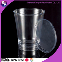 EPK New design changing color water or ice cup /disposable plastic food container