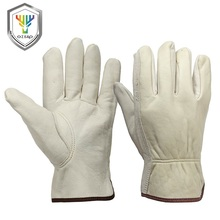 Cheap Sheepskin Leather Outdoor Work Gloves Safety Gloves Importer
