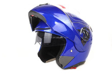 HuaDun design dot two visor motor helmet, flip up helmets HD-701