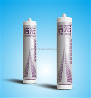 Haohong glass door window acid silicone adhesive glue