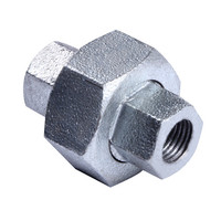 ss316 plumbing g.i. swivel union pipe fittings