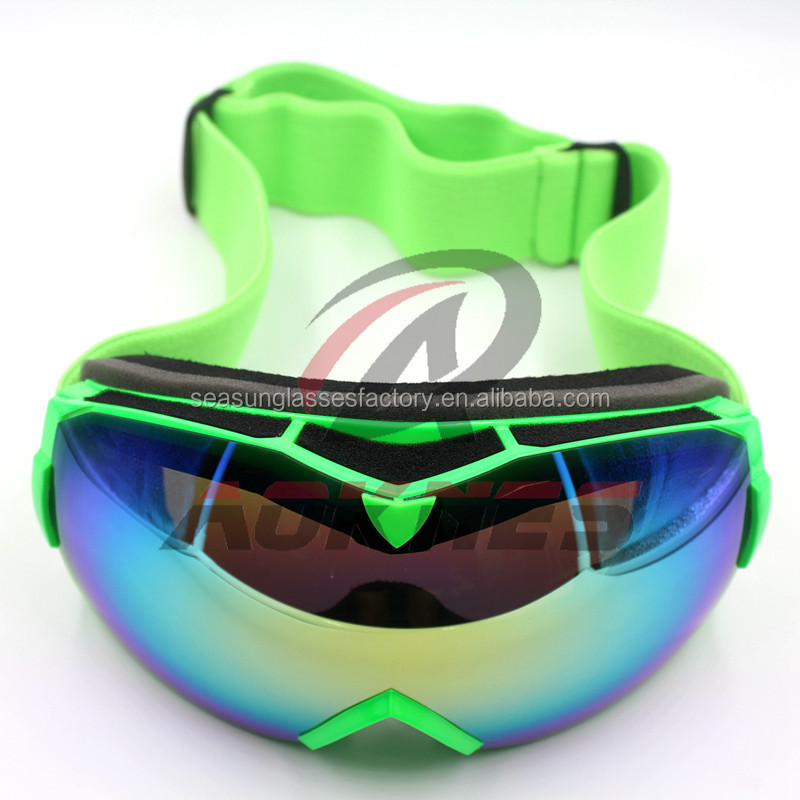 a2c903f8d02d China factory ski goggles with double lens ice safety glasses for outdoor  skiing sports ski goggles