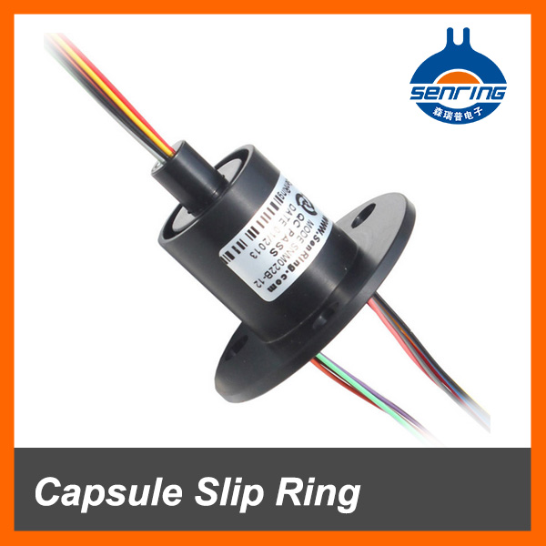 Electrical accessories of Capsule Slip Ring 12mm 6 circuit