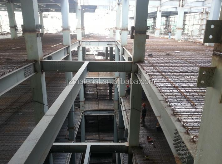 galvanized steel floor decking truss sheet/steel bar truss deck sheet TD4-120TD3-90TD2-80