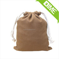 Sealable Cheap Hessian Drawstring Bag Jute In Travel