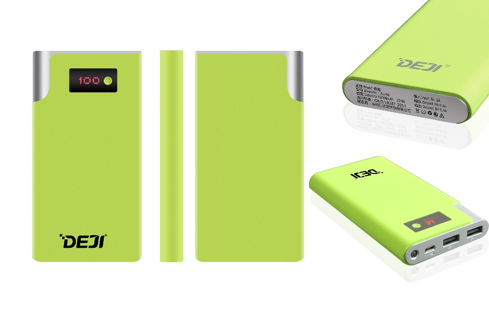 Credit card power bank 10000mah Mobile Power Supply