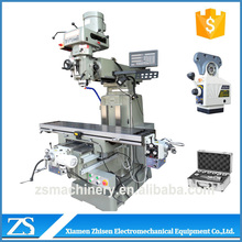 specification of vertical milling machine with high precision