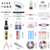 9W Lamp UV Gel Pedicure Manicure Nail Art Set HN2033