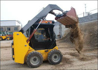 XCMG Brand New 750kg Mini Skid Steer Loader XT740