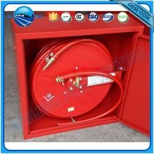 Muti-used stainess steel fire hose reel box for fire protection