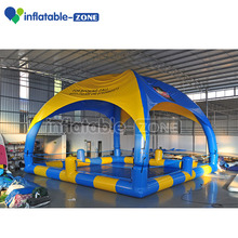 Hot sale inflatale tent pool commercial advertising customized advertising inflatable tents