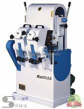 High quality double belt round rod woodworking sanding machine