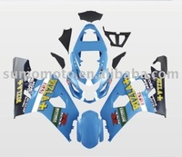 Motorcycle fairing for GSXR600RR 2004-2005, ABS plastic, high painting work, hot sale.