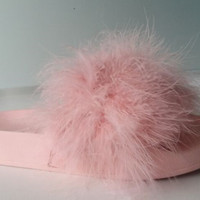 Fashion Shoes Branded Women Slider Fur