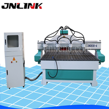 Fast speed Multi-function drilling Panel Furniture CNC Router four heads working size 2000*3000mm/3d cnc router