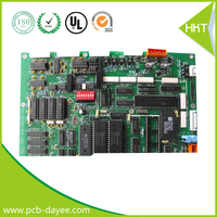 Communication control lcd display circuit board assembly in china