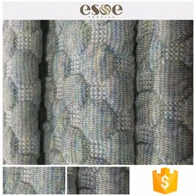 Shaoxing knit poly stretch jacquard fabric manufacture design