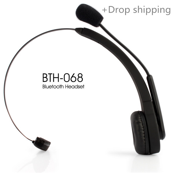 BTH-068 Bluetooth Wireless Headset Long Standby Time BT Earphone for PC PS3 Gaming Earbuds for drop shipping and warehousing