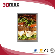 rectangle,customized Shape and acrylic Material window display led light boxe