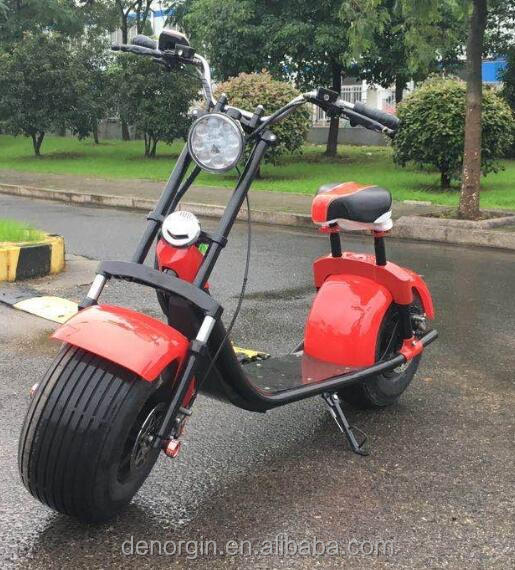 New model 2 wheel fat tire <strong>electric</strong> scooter with samsung battery 1000w high quality best promote gift