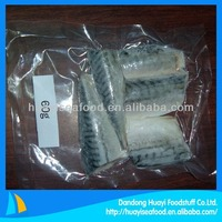 frozen vacuum packed mackerel portion