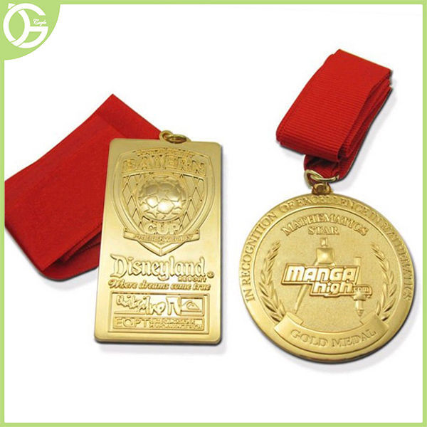 High quality hot sale cheap 3D custom LOGO Olympic medal / Sport medal/Medallion with ribbon